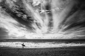 Picture of The loneliness of a surfer